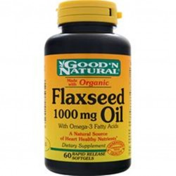 FLAXSEED OIL (ACEITE DE SEMILLAS DE LINAZA) 60 SG * GOOD´NATURAL