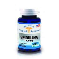 SPIRULINA 800 MG *100 TABLETAS NATURAL SYSTEMS