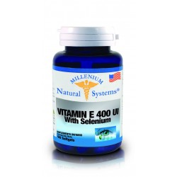 VITAMINA E 400 UI WITH SELENIUM 60 SG*NATURAL SYSTEMS