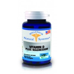 VITAMINA D PLUS MAGNESIUM  100 SG*NATURAL SYSTEMS