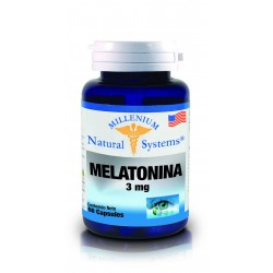 MELATONINA 3 MG 60 CAP * NATURAL SYSTEMS