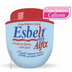 ESBELT CREMA REDUCTORA CALIENTE ALFA 400 gr* NATURAL FRESHLY.