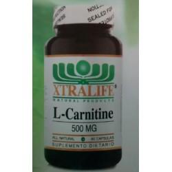 L-CARNITINE  500 MG 60 CAP* XTRALIFE