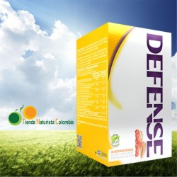 DEFENSE (COLOSTRUM+GANODERMA) 60 CAP *HEALTHY AMERICA