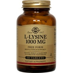 L-LYSINE (LISINA) 1000 MG 50 TAB SOLGAR