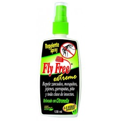 FLY FREE 120 ML *NATURAL FRESHLY