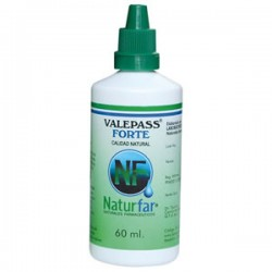 VALEPASS FORTE (VALERIANA-PASIFLORA-TORONJIL) x 60 ML*NATURFAR