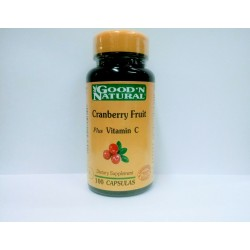CRANBERRY FRUIT  + VIT C 100 SG *GOOD´NATURAL.