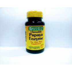 ENZIMA DE PAPAYA 100 TAB *GOOD´NATURAL