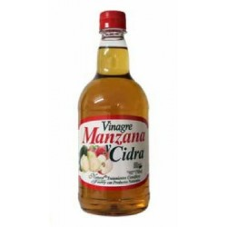 VINAGRE MANZANA Y CIDRA 750 ML *NATURAL FRESHLY