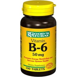 VITAMINA B6 100 MG 100 TAB *GOOD´NATURAL