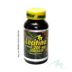 LECITINA DE SOYA 1200 MG*60 caps Mineralin
