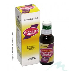 MULTIVITAMINICO (MAXIVIT) * 30 ML MINERALIN