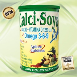 CALCI SOYA LIGHT*400GR.Natural Freshly