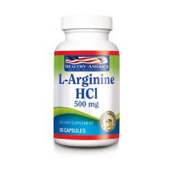 L-ARGININE 500 MG 50 SG * HEALTHY AMERICA