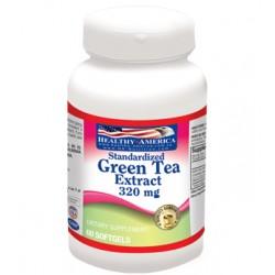 GREEN TEA EXTRACT (TE VERDE) 320 MG 60 CAPS *HEALTHY AMERICA.
