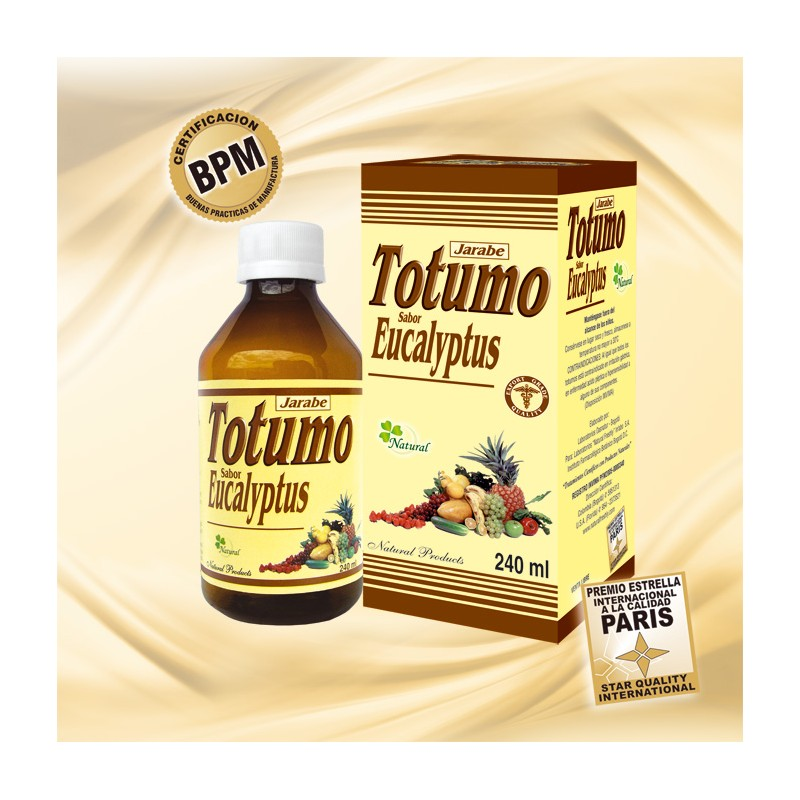 JARABE DE TOTUMO * 240 ML *NATURAL FRESHLY - Tienda