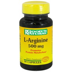 L-ARGININE 500 MG *50 CAP * GOOD´NATURAL