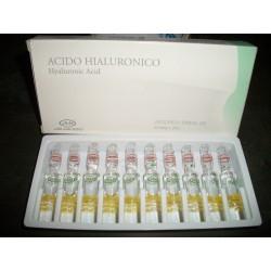 Solucion de Ácido Hialuronico caja por 10 Amp * Armesso.