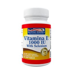 VITAMINA E 1000 IU *50 SG Healthy America