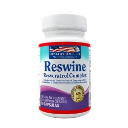 RESVERATROL COMPLEX *60 CAP HEALTHY*AMERICA