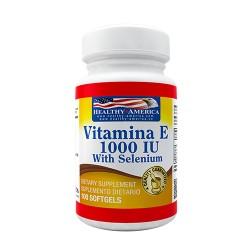 VITAMINA E 1000 IU *100 SG HEALTHY AMERICA