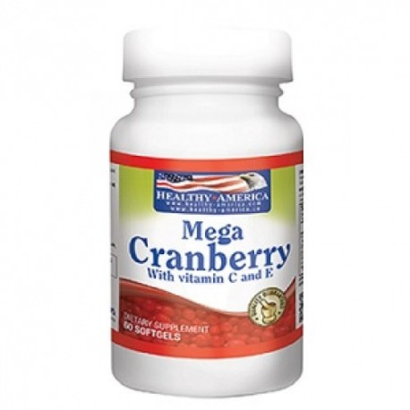 MEGA CRANBERRY 60 SG *HEALHY AMERICA