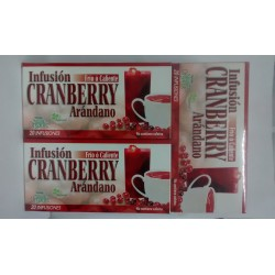 CRANBERRY INFUSION PAGUE 2 LLEVE 3TISANAS* NATURAL FRESHLY.