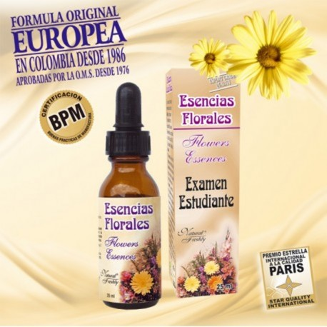 ESENCIA  EXAMEN ESTUDIANTE 25 ML * NATURAL FRESHLY.