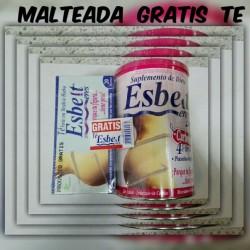 ESBELT-ERES MALTEADA * 500 MG VAINILLA O FRESA GRATIS TE 20 TIS* NATURAL FRESHLY
