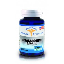 BETACAROTENO  100 SG * NATURAL SYSTEMS
