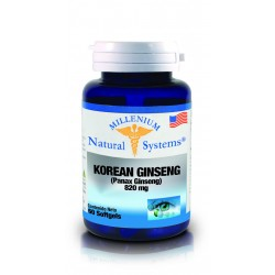 KOREAN GINSENG  60 CAP .*NATURAL SYSTEM
