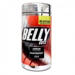BELLY CUTS 60 SG * HEALTHY AMERICA