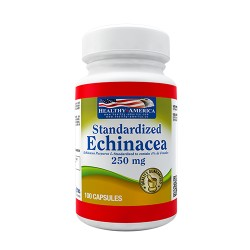 ECHINACEA 250 MG 100 CAPS * HEALTHY AMERICA