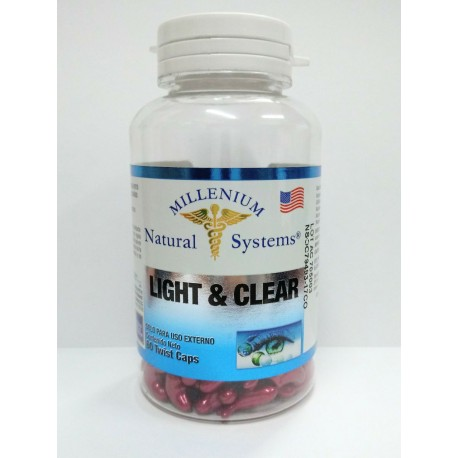 LIGHT & CLEAR 60 TWIST CAPS * NATURAL SYSTEMS