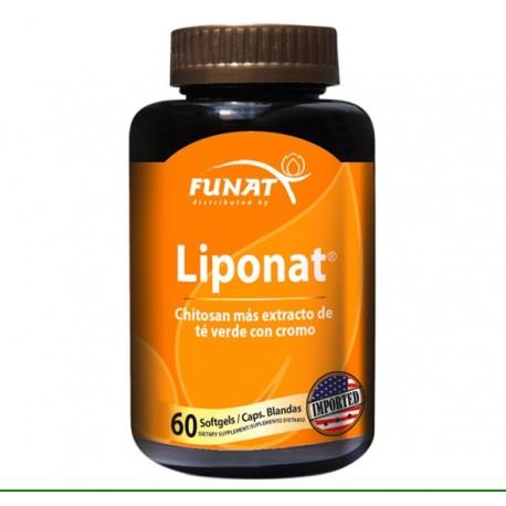 LIPONAT (ADELGAZANTE) 60 CAPS *FUNAT