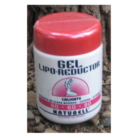 GEL LIPO-REDUCTOR CALIENTE 90-60-90 NATUBELL