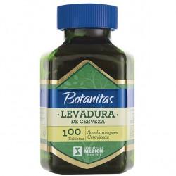 LEVADURA DE CERVEZA 100 TAB * MEDICK