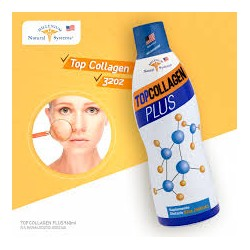 TOPCOLLAGEN PLUS 32 OZ(960 ML) COLÁGENO LIQUIDO *NATURAL SYSTEMS