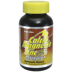 CALCIO-MAGNESIO-ZINC  90 TAB * MINERALIN