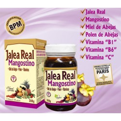 JALEA REAL MANGOSTINO * 300 GR  NATURAL FRESHLY
