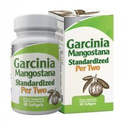 GARCINIA MANGOSTANA 2000 MG 60 SG *HEALTHY AMERICA