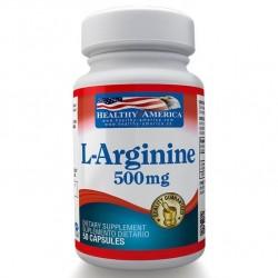 L-ARGININE 500 MG (ARGININA) 50 SG * HEALTHY AMERICA