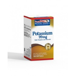 POTASSIUM (POTASIO) 99 MG 100 TAB *HEALTHY AMERICA