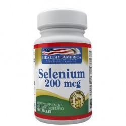 SELENIO 200 MCG 100 TAB * HEALTHY AMERICA