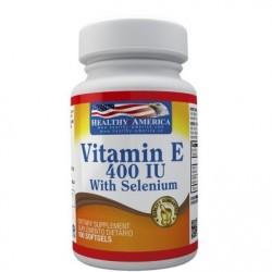VITAMINA E 400 UI 100 SG * HEALTHY AMERICA.