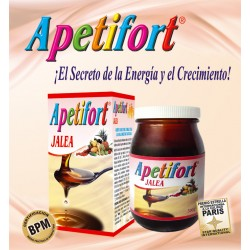 APETIFORT JALEA * 300 GR Natural Freshly