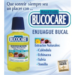 BUCOCARE ENJUAGUE BUCAL * 250 ML Natural Freshly