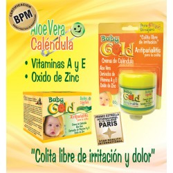 CREMA ANTIPAÑALITIS BABY GOLD * 60 GR Natural Freshly