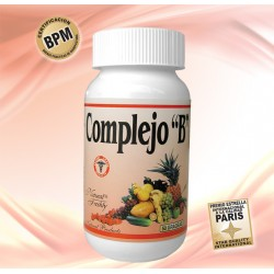 COMPLEJO B * 50 TAB Natural freshly